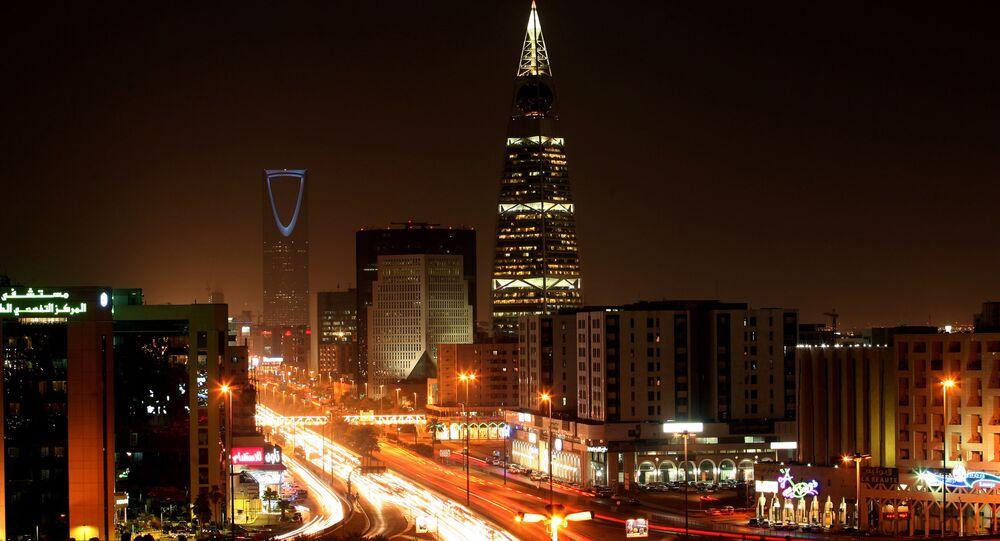 A general view shows the bustling Saudi capital Riyadh