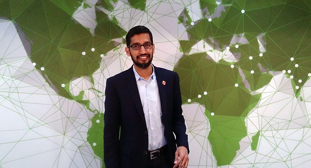 Google chief executive Sundar Pichai
