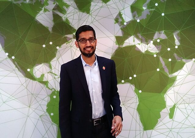 Google chief executive Sundar Pichai