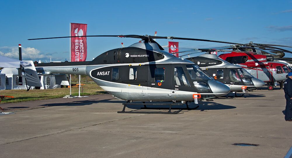 Ansat multipurpose utility helicopters