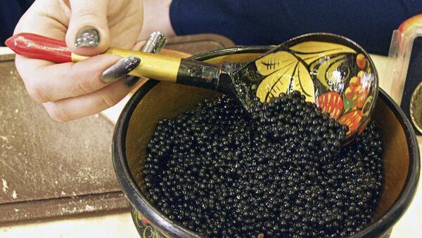 Black caviar  - Sputnik International
