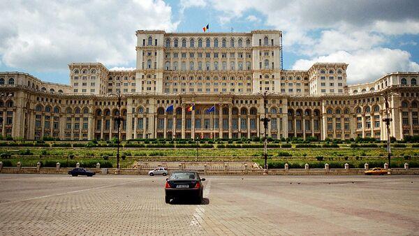 Parliament Palace in Bucharest, Romania - Sputnik International
