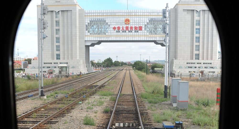 The Chinese-Russian border on the Manchuria - Siberia railway route. File photo
