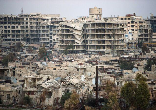 Damascus, Syria, (File)