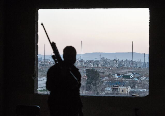 Jobar, a district of Damascus controlled by Jabhat al-Nusra militants (File)