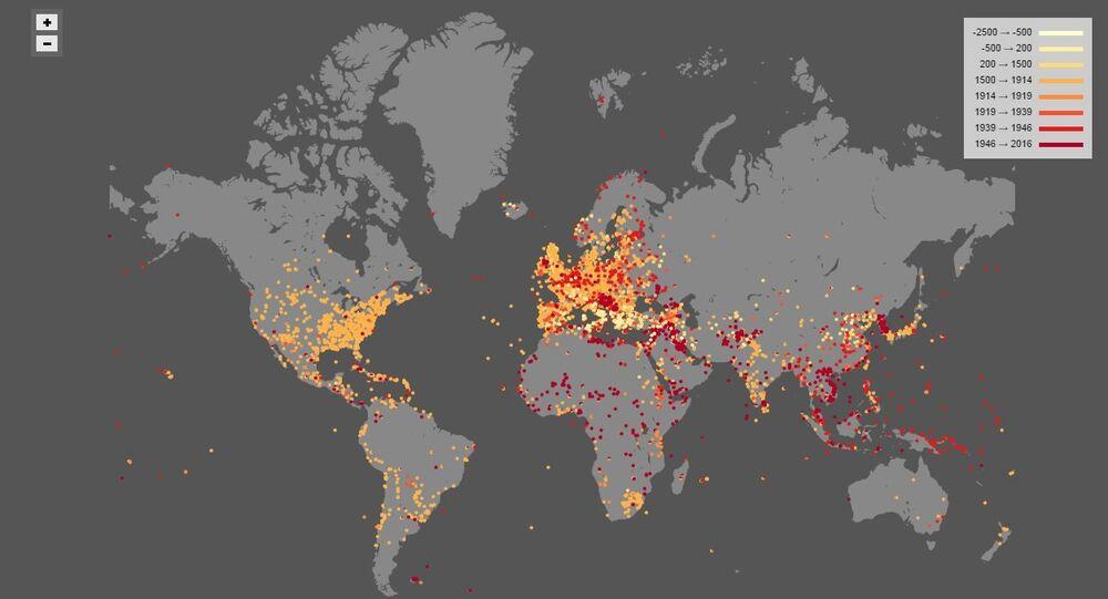 Map of Battles