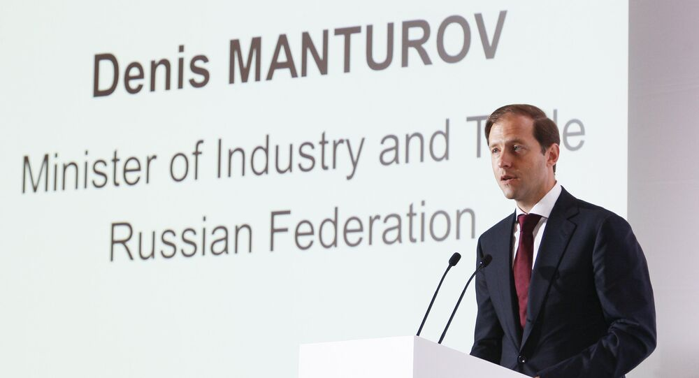 Denis Manturov, Minister of Industry and Trade, Russian Federation