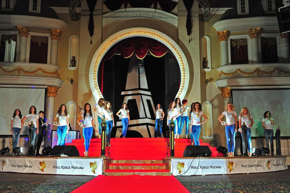 Grace and Charm: Moscow's Beauty Queens