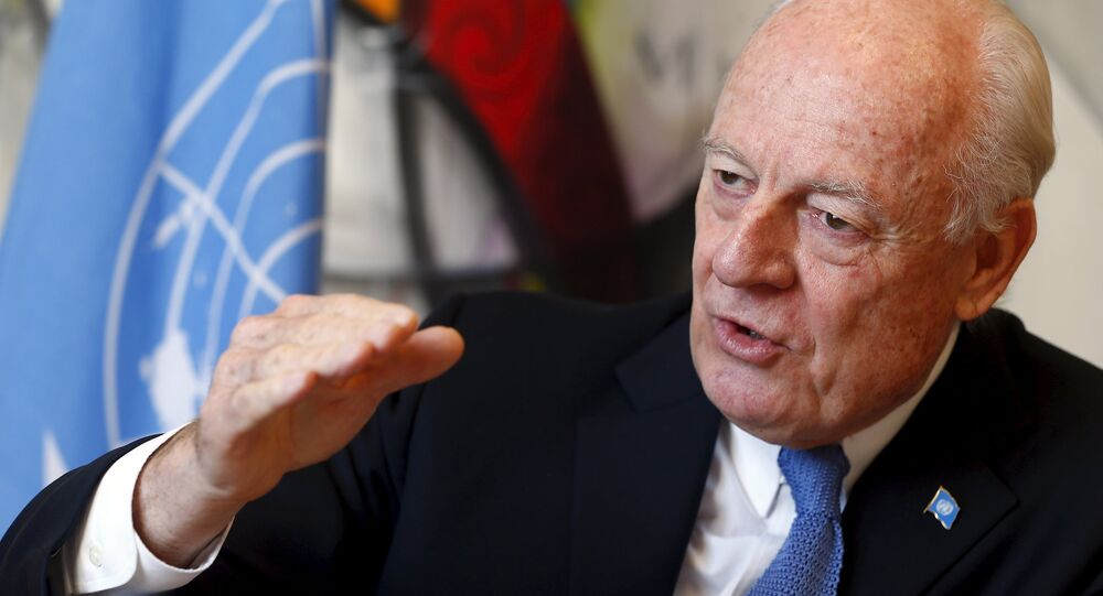 The new Syrian opposition group formed at the Hmeymim air base will meet with UN Special Envoy for Syria Staffan de Mistura and submit proposals on political transition for Syria on March 18.