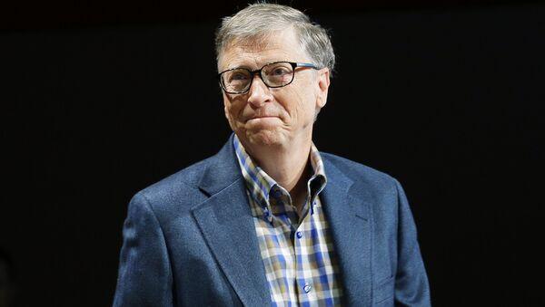 Microsoft Corp. founder Bill Gates. - Sputnik International