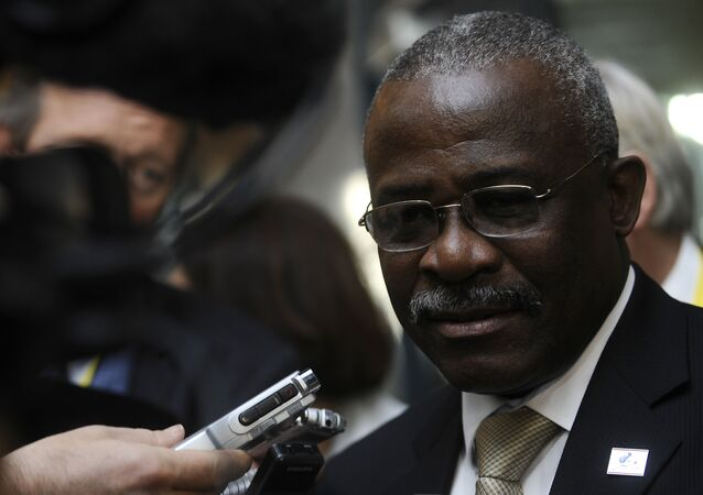 Head of the International Fund for Agriculture Development (IFAD) Kanayo F. Nwanze
