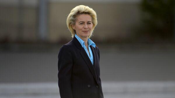 German Defence Minister Ursula von der Leyen - Sputnik International