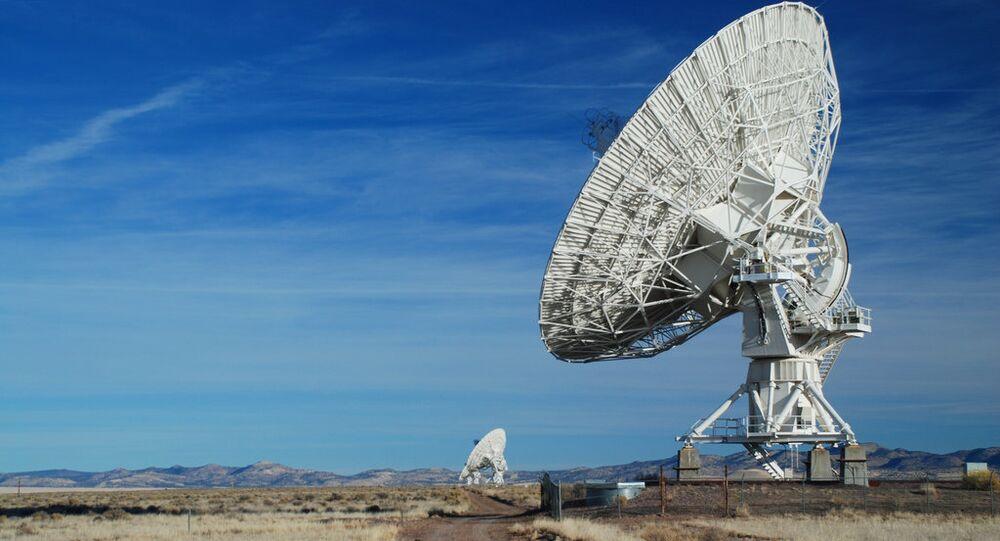 VLA Very Large Array Radiotelescope, New Mexico 2008