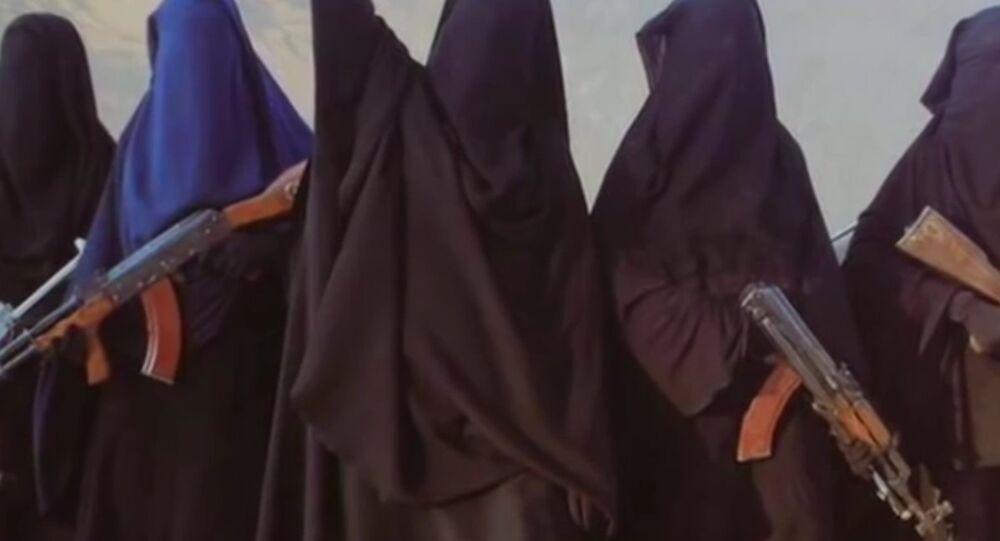 Women members of Islamic State