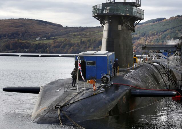 HMS Victorious berthed at the Clyde Naval Base in Scotland. (File)