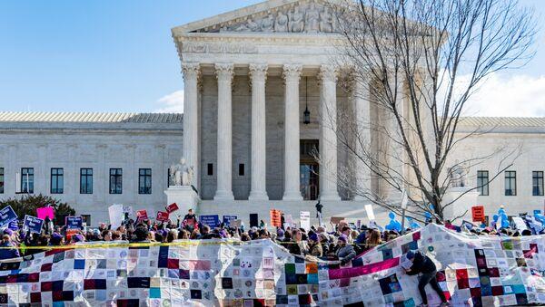 SCOTUS Abortion Rights Protest - Sputnik International