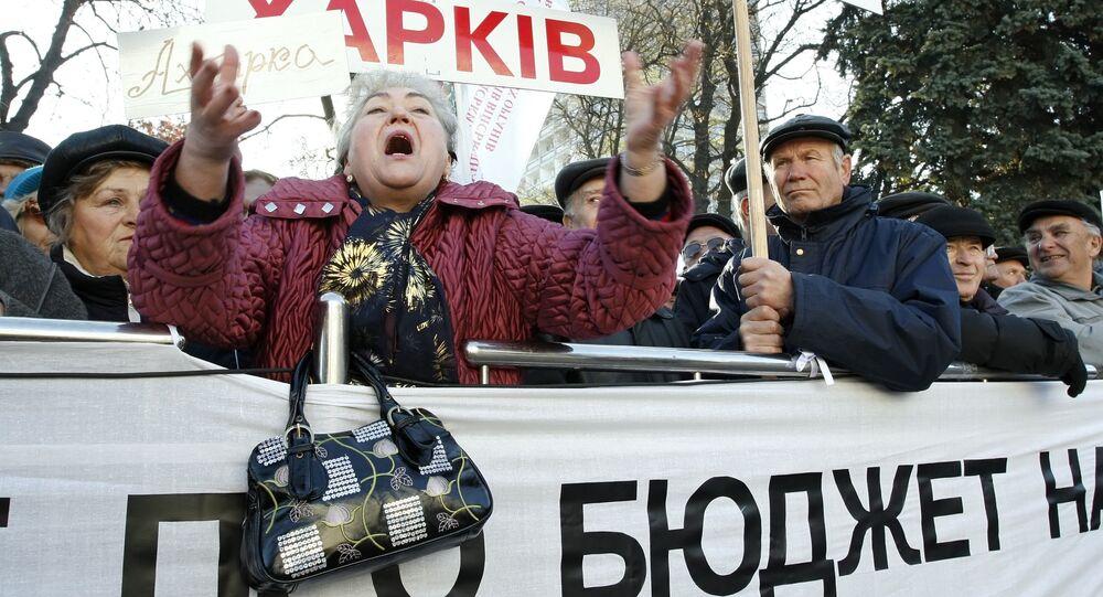 Ukrainian budget public rally