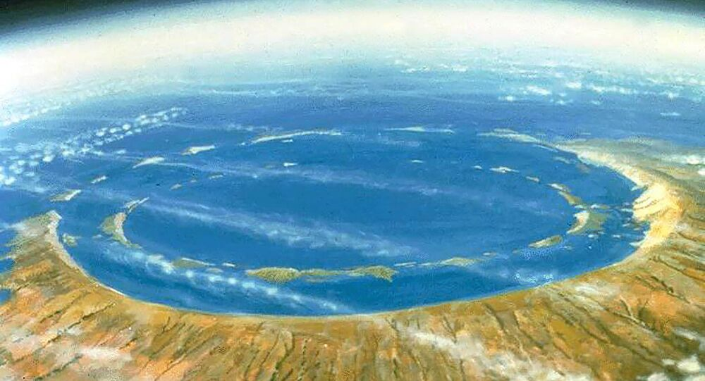 Chicxulub Crater. Mexico