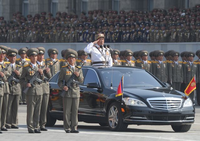Military parade marks Kim Il-sung's 100th birthday