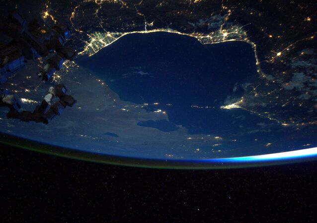 NASA astronaut Scott Kelly on the International Space Station July 31, 2015 tweeted this image out of an Earth observation as part of his Space Geo trivia contest.