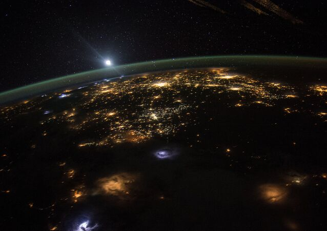 Astronaut Scott Kelly posted this photo taken from the International Space Station to Twitter on August 10, 2015 with the caption, #GoodMorning to those in the western #USA. Looks like there's a lot going on down there.