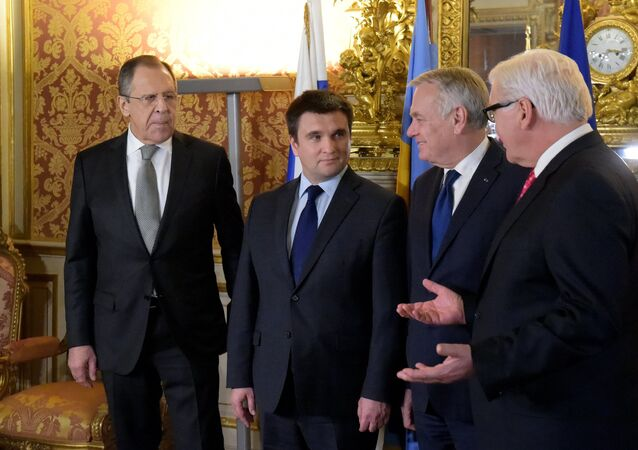 Normandy Four foreign ministerial meeting starts in Paris