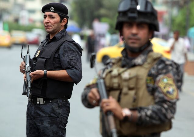 Iraqi police. File photo