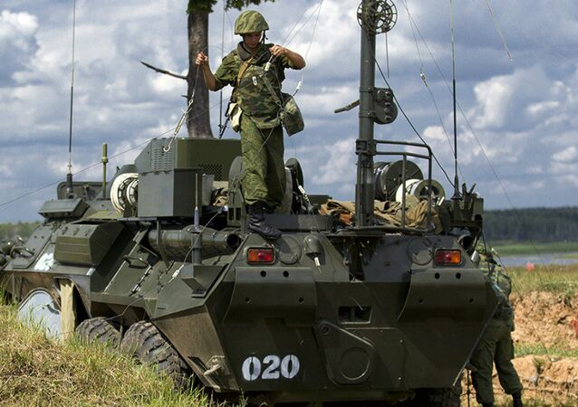 Russian Communication Troops