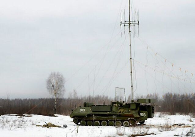 The Borisoglebsk-2 electronic warfare system