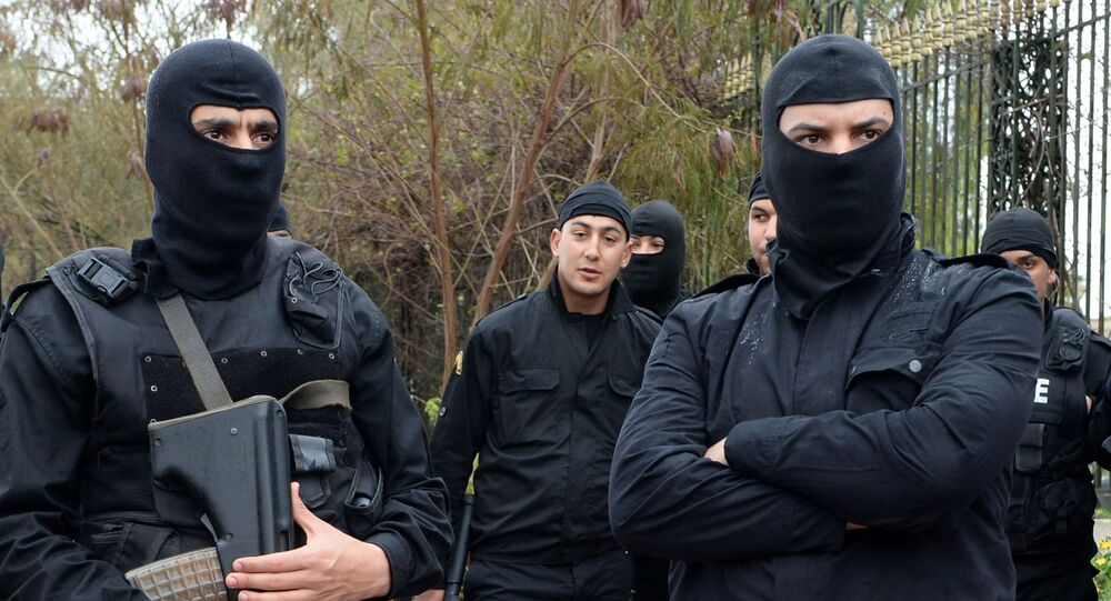 Tunisian security forces (File)