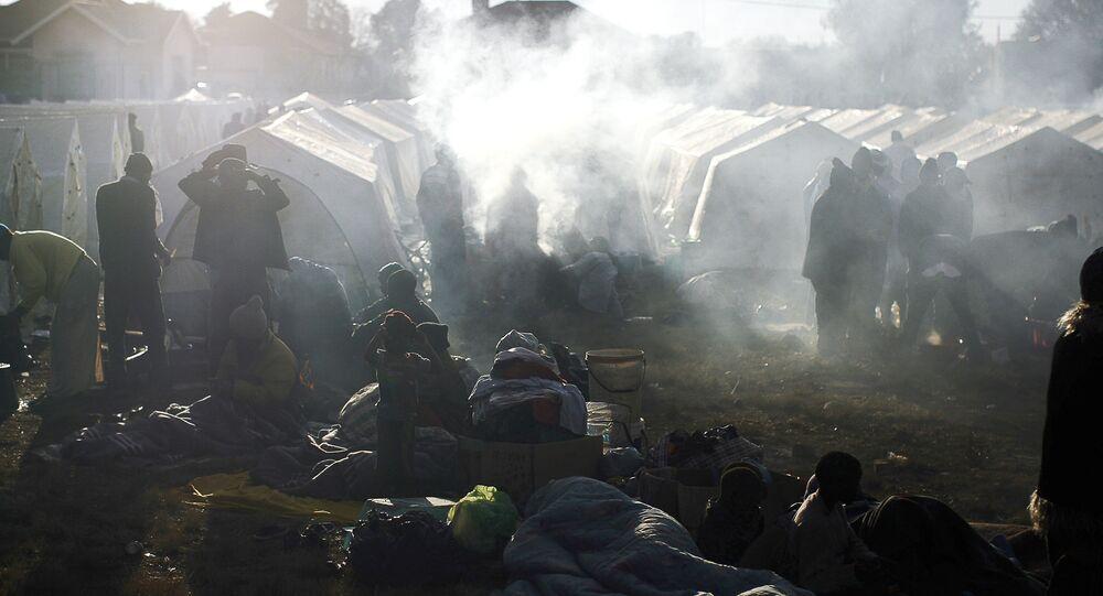 An informal refugee camp (File)