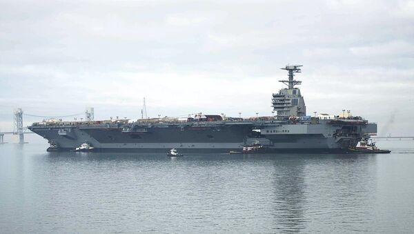 USS Gerald R. Ford - Sputnik International