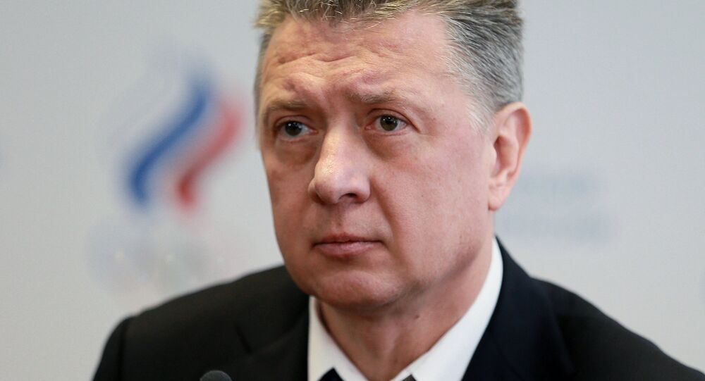 President elect of the Russian Athletics Federation Dmitry Shlyakhtin