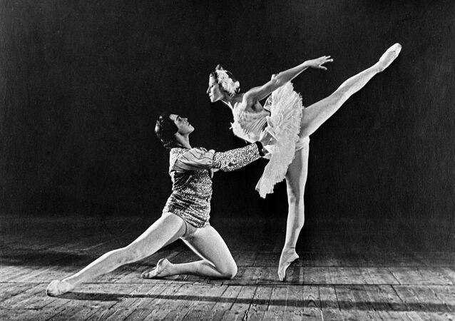 Ballerina Maya Mikhailovna Plisetskaya