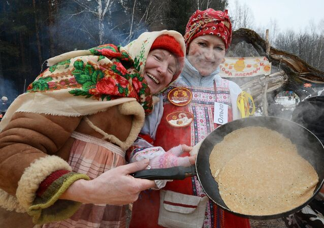 Celebration of Maslenitsa in Moscow and Moscow Region