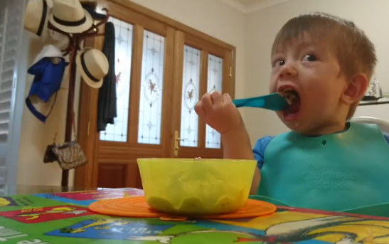 Baby Gets a Brain Freeze