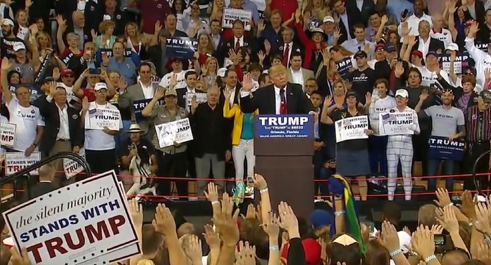 Trump 'Didn't Know it Was a Problem' To Have Supporters Do Hitler Salute