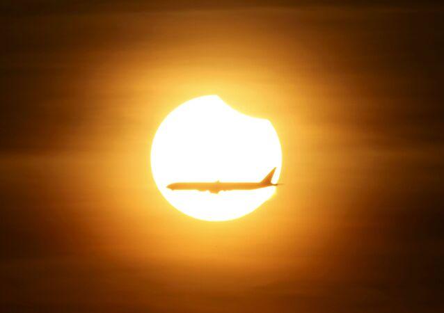 Солнечное затмение в Сингапуре