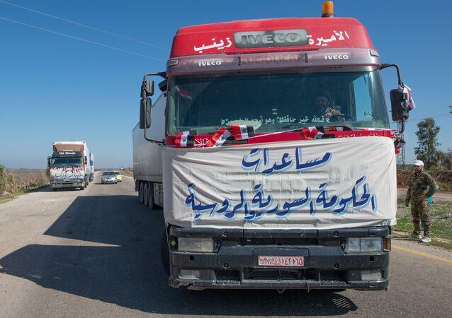 Humanitarian convoy