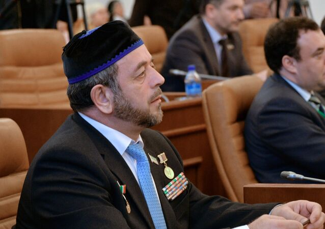 Human Rights Ombudsman in the Chechen Republic Nurdi Nukhadzhiyev