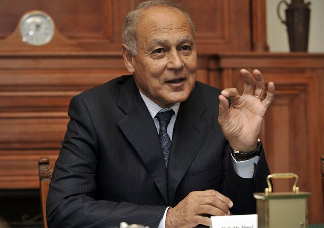 Former Egyptian Foreign Minister Ahmed Aboul Gheit.