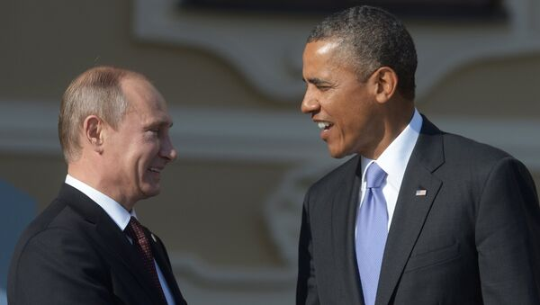Russian President Vladimir Putin (left) and US President Barack Obama (file) - Sputnik International