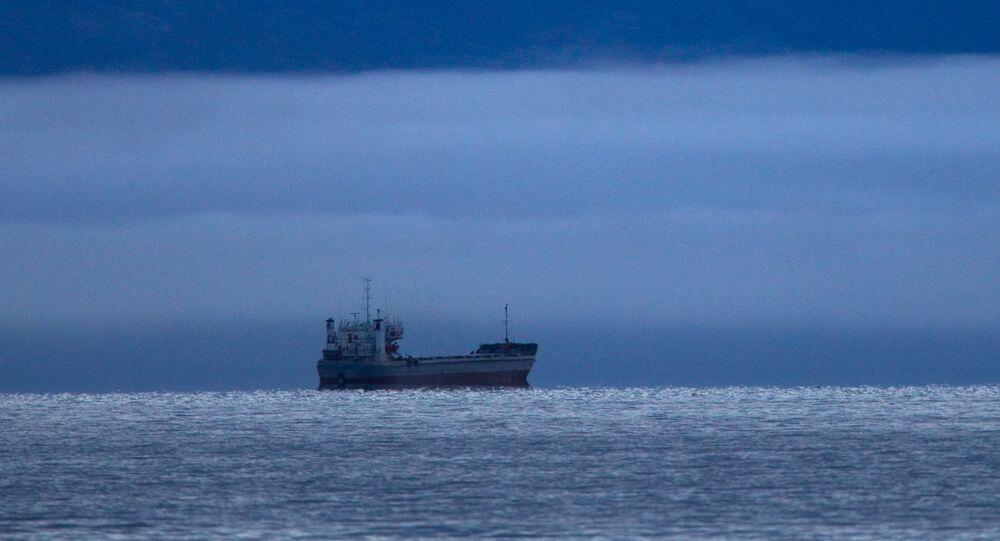 A ship in the East Siberian Sea. (File)