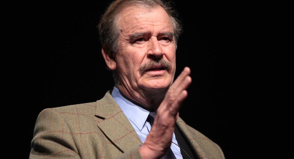 Ex-Mexican President Vicente Fox
