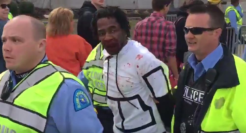 Ferguson Protester Beaten Bloody Outside St. Louis Trump Rally