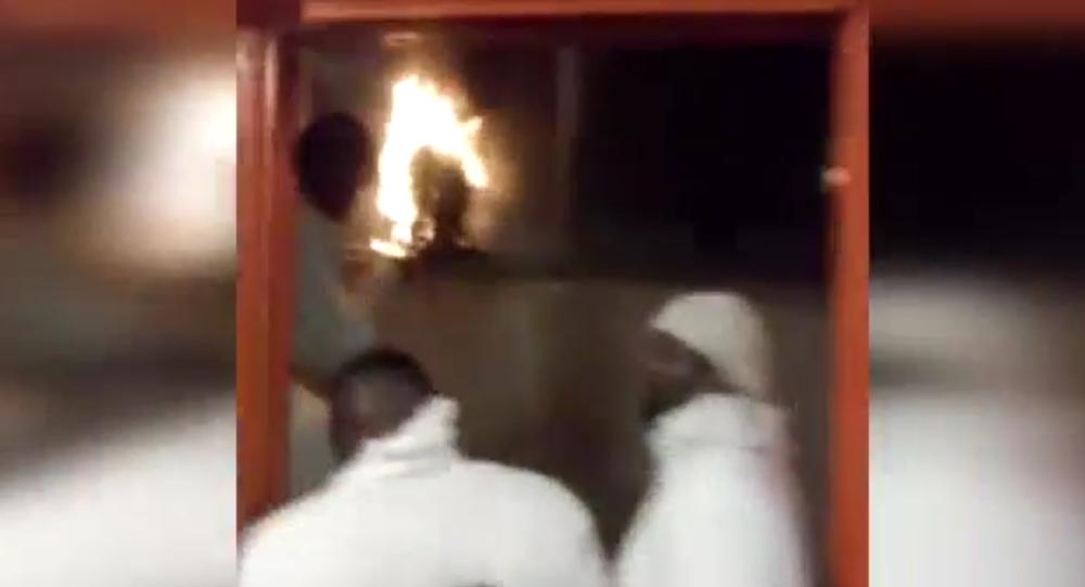 Fire set in Holman Correctional Facility