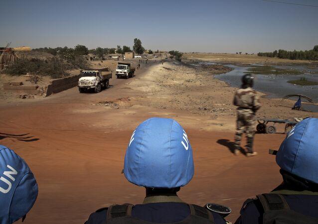 UN peacekeepers. Mali (File)