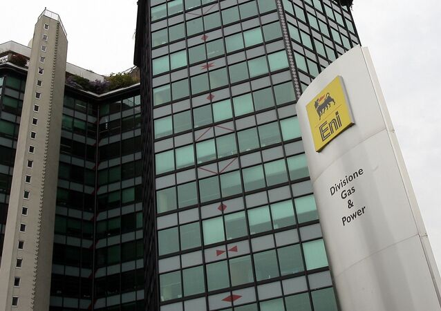 A view of the Italy's energy giant Eni Spa headquarters in San Donato, in the outskirts of Milan, Italy, Wednesday, April 4, 2007