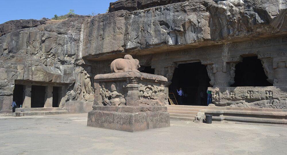 Cave 21 at Ellora
