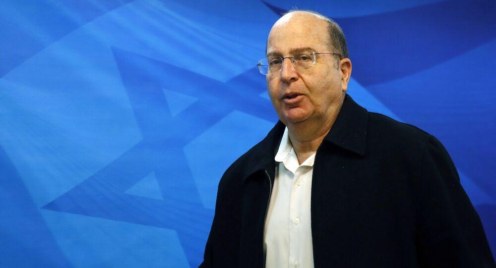 Moshe Yaalon (File)